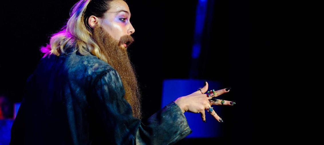 Red Emma & The Mad Monk featuring Drita Kabashi as Rasputin, Photo by JJ Darling