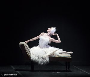 Kate Honea in Sir Frederick Ashton's La Chatte - Photo by Gene Schiavone
