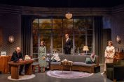 DAYS TO COME BY LILLIAN HELLMAN Larry Bull, Janie Brookshire, Ted Deasy, and Mary Bacon Photo by Todd Cerveris