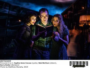 Beetlejuice The Musical On Broadway Stage Biz