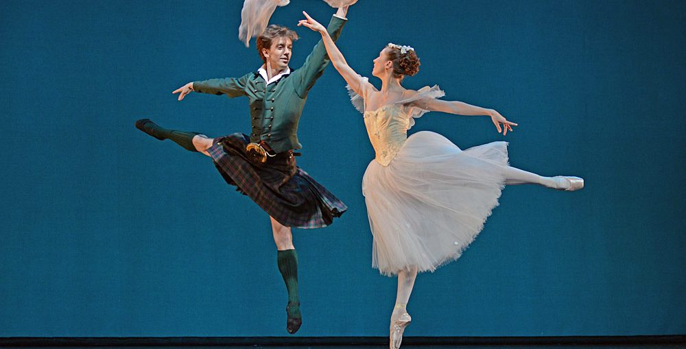 The Royal Danish Ballet's Ulrik Birkkjaer and Gudrun Bojesen. .Photo: Dave Morgan