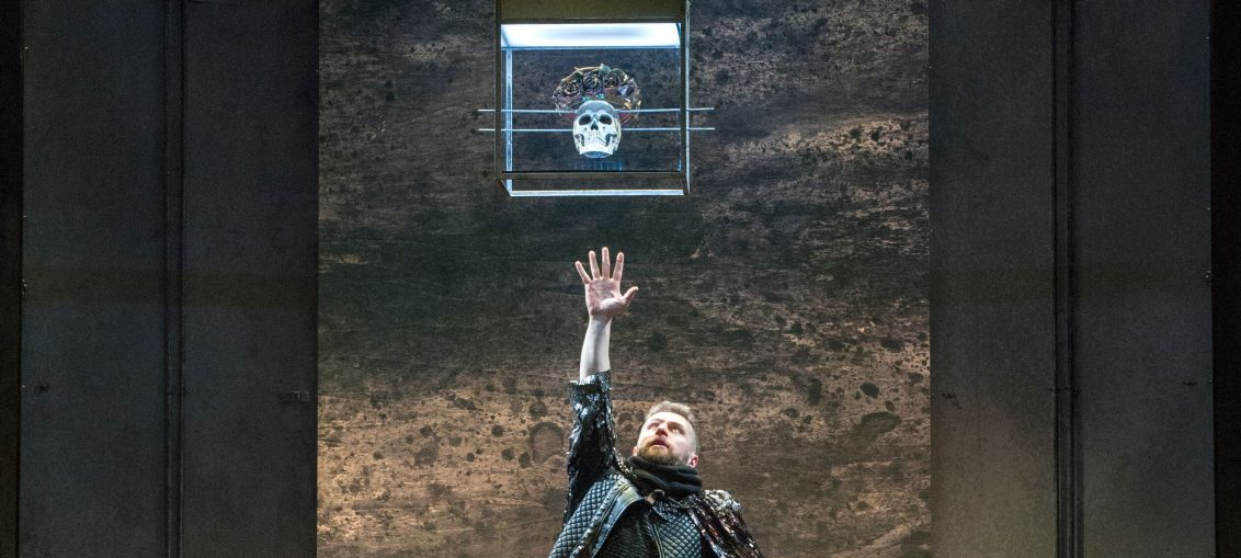Aaron Monaghan as Richard III. Photo: Richard Termine