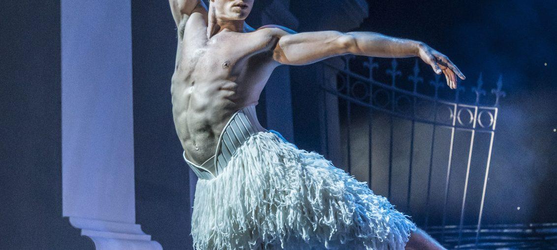 Matthew Ball as The Swan. Photo: Johan Persson