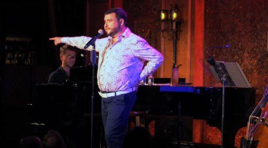 Todd Buonopane evoked Bernadette Peters in his concert at Feinstein's/54 Below.